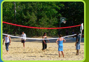 Volleyball at  Egg Harbor Lake Campground