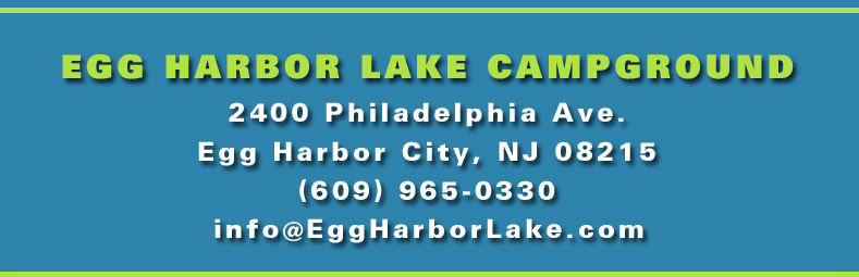 Egg Harbor Lake Campground :: 2300 Philadelphia Ave., Egg Harbor City, NJ 08215, (609) 965-0123