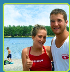 Life Guards at Egg Harbor Lake Campground
